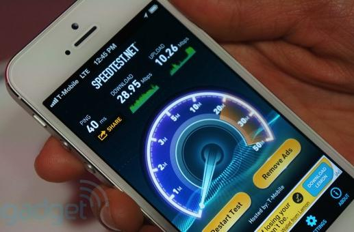 T-Mobile LTE speed tests on Note II, HTC One and iPhone 5