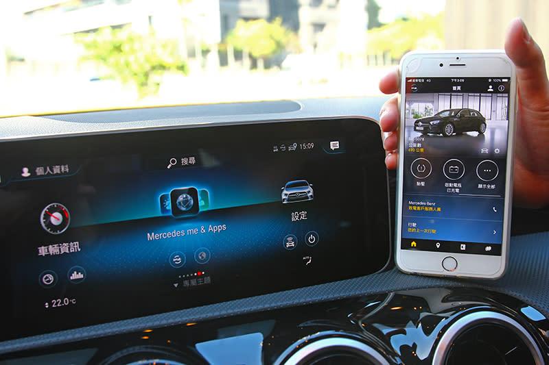 Mercedes me與MBUX是新A-Class配備最大亮點。