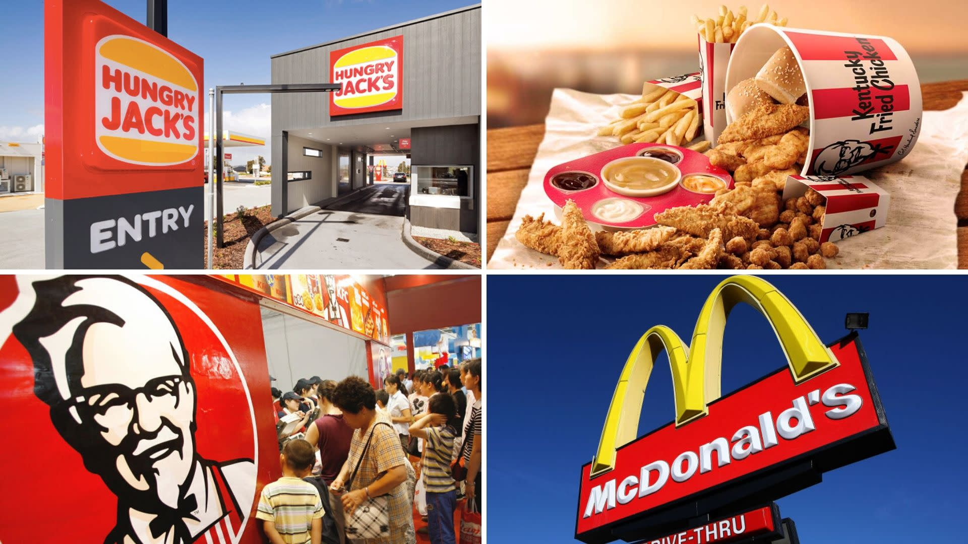 The best McDonald's, KFC and Hungry Jack's deals this week