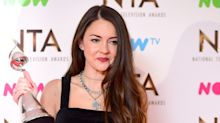 Lacey Turner returned to work on 'EastEnders' the day after miscarriage