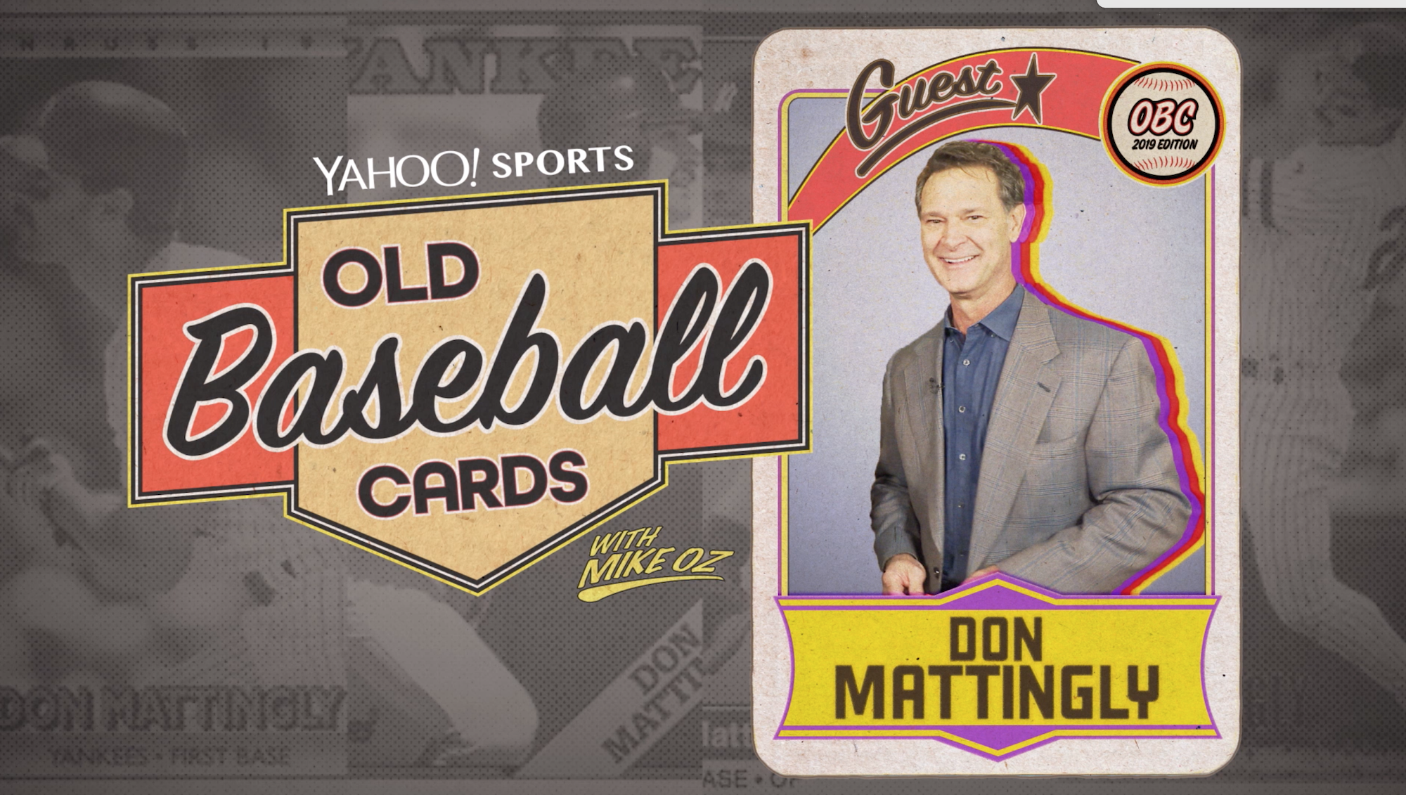 Old Baseball Cards Don Mattingly Talks About The Yankees Dodgers