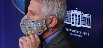 Fauci makes prediction about masks