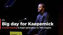 Colin Kaepernick's grievance vs. NFL heads to a crucial hearing on Thursday