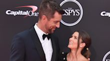 Danica Patrick and Aaron Rodgers make red carpet debut at ESPY Awards, then star in 'I,Tonya' parody