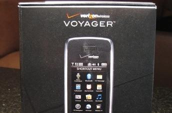 LG Voyager unboxing