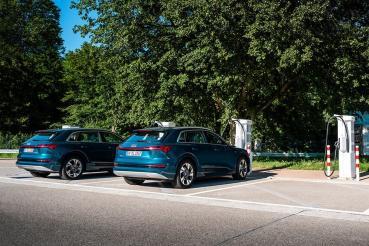 打造e-tron純電生活圈!Audi規劃年底前完成六座180 kW快速充電站