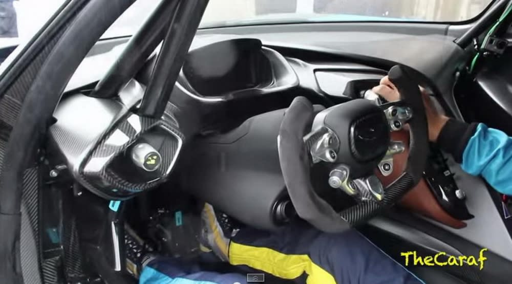 無奈『雨神』攪局!Aston Martin Vulcan『火神』現身Sap 24H 2015 [內附動態影片]
