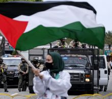 Protesters in major US cities decry airstrikes over Gaza