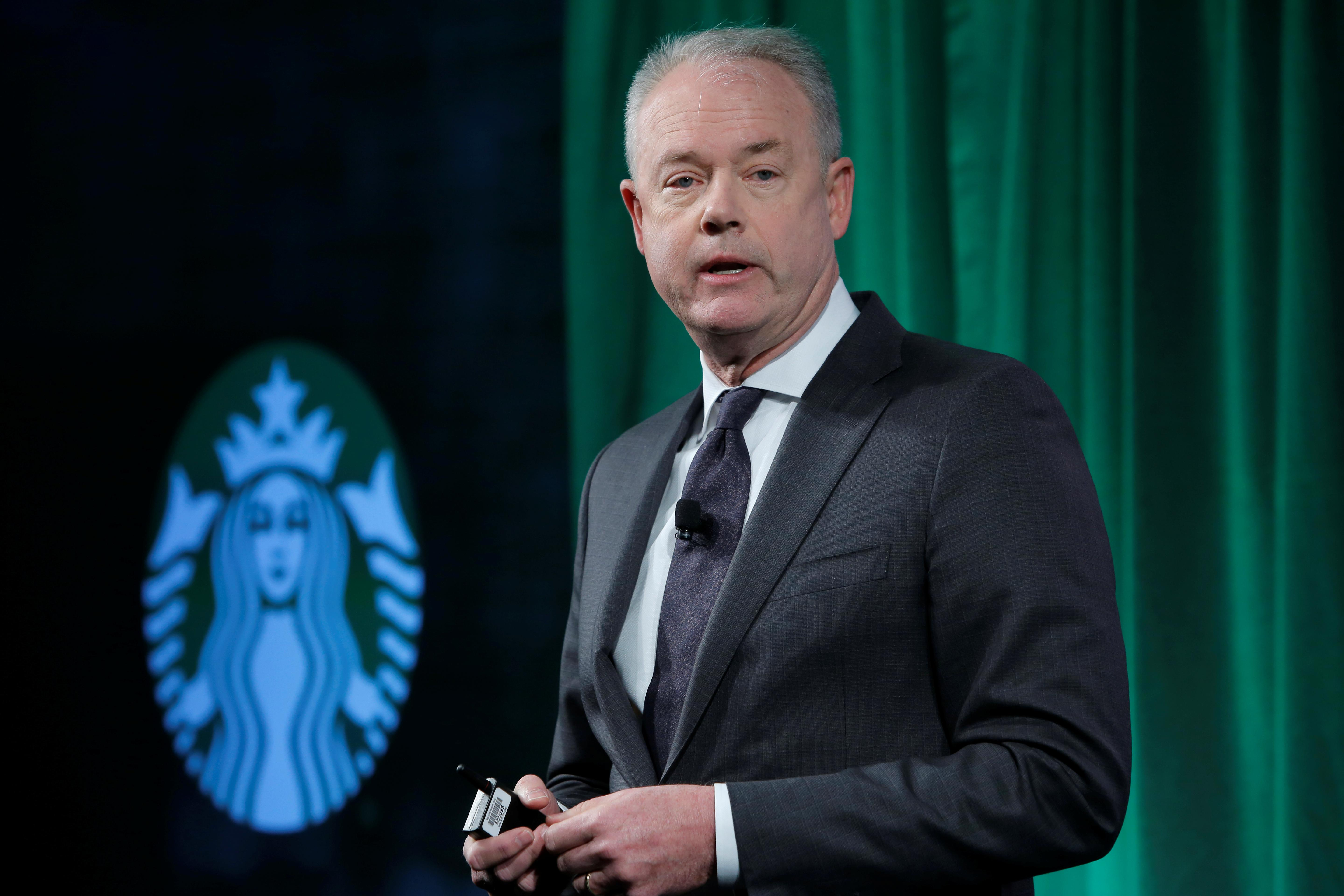 How Starbucks CEO plans to tackle climate change