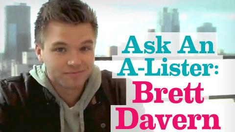 Brett Davern: Ask An A-Lister video