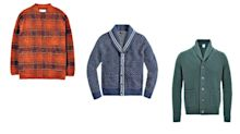 Eight of the best cardigans for middle-aged men