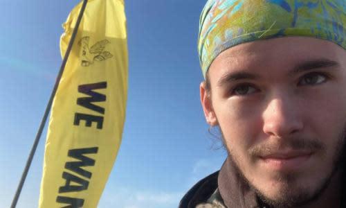 Extinction Rebellion protester, 17, climbs crane in Norwich