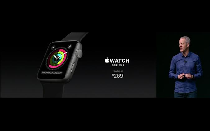 The original Apple Watch gets a price drop to $269