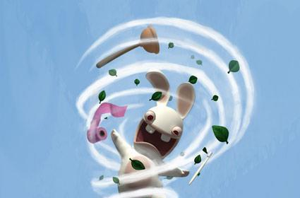Bunnies can't play with a DS Lite