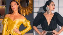 Mangas bufantes: tendência favorita de Vivi Guedes bomba na semana de moda de Londres