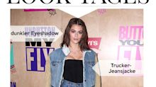 Look des Tages: Kaia Gerber im Double-Denim-Look