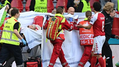 Match suspended after player collapses on field