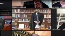 Ministro do STJ participa de sessão virtual sem calça; veja vídeo