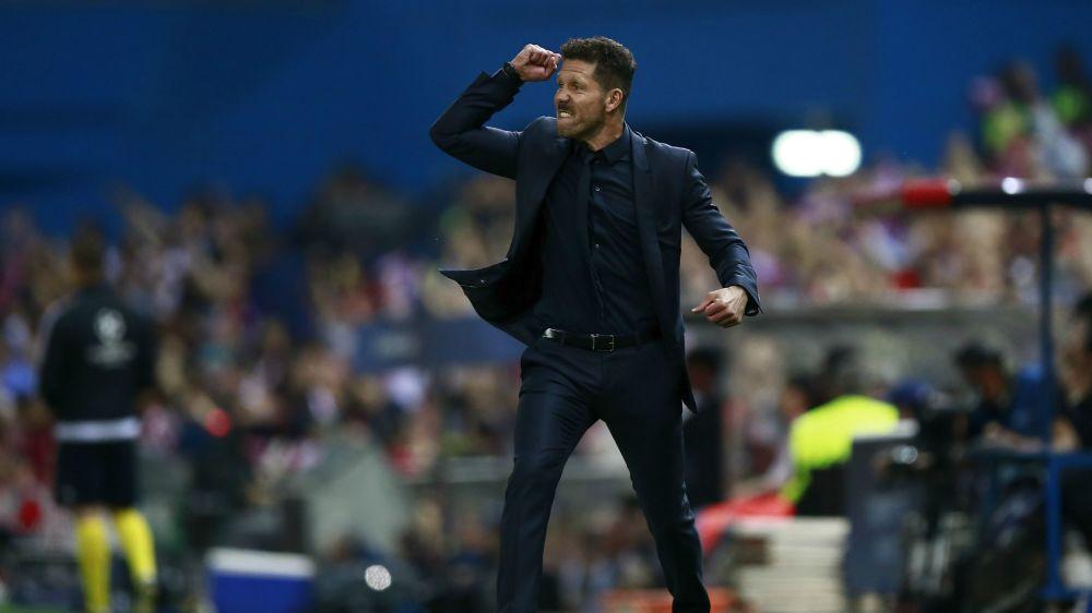 """Atlético Madrid, Simeone : """"Maintenir cette régularité"""""""