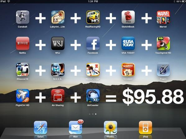 Editorial: iPad app prices are out of control and will kill us all