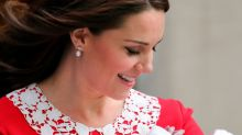 Kate Middleton says she loves being a mom