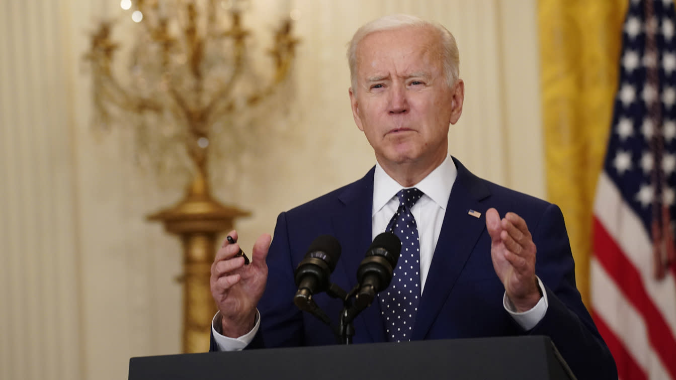 Biden explains reasons for new sanctions on Russia