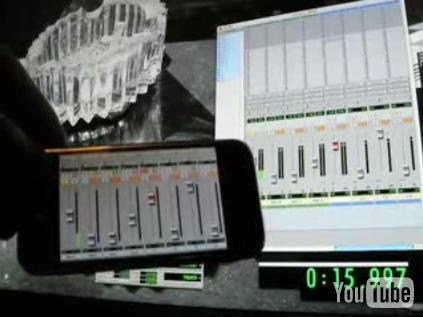 iPhone hacked to control Pro Tools