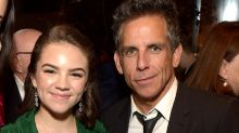 Ben Stiller has a sweet father-daughter moment with 15-year-old Ella at the New York Film Festival