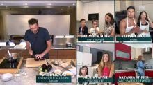 Tous en cuisine en direct avec Cyril Lignac : un candidat de télé-réalité cuisine torse nu et ulcère les internautes