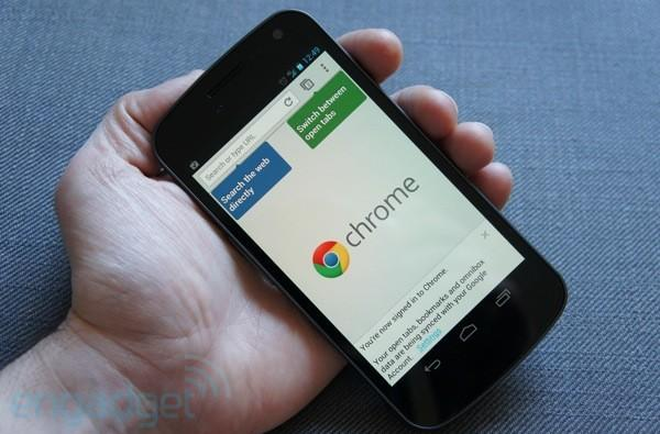 Chrome Beta for Android hands-on (video)