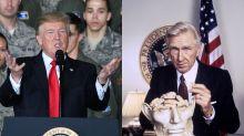 """Quiz: Im falschen Film? Präsident Trump vs. Präsident Benson (aus """"Hot Shots! 2"""")"""
