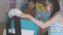 Esta silla terapéutica ha ayudado a más de 160 niños con parálisis cerebral