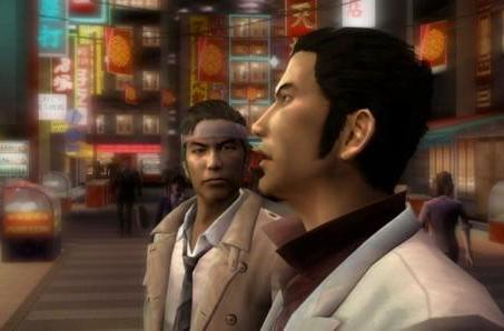 Yakuza 1 and 2 HD extort trailer, screens