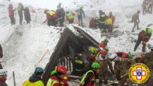 People missing from avalanche-hit hotel in Italy rise to 24