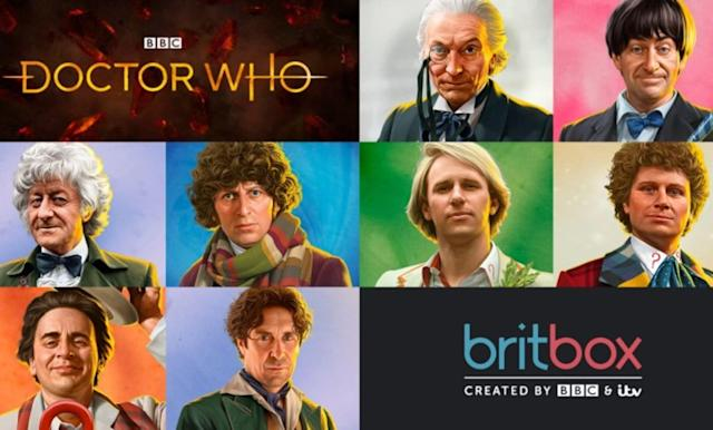 BritBox finally adds classic 'Doctor Who' to its UK service