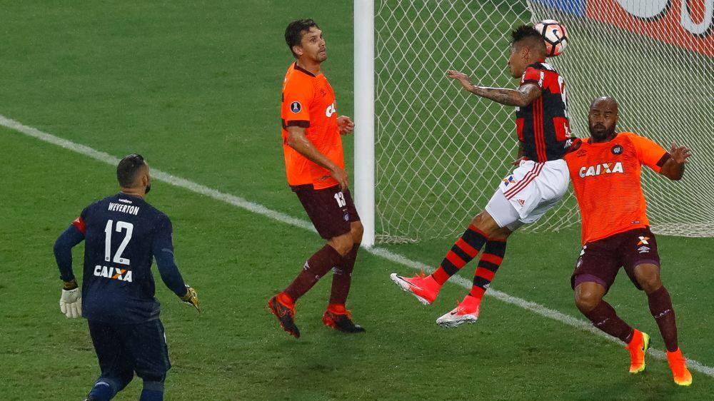 Atlético-PR x Flamengo: os números, pranchetas e mapas de calor completos