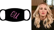 "Máscara com iniciais de Carrie Underwood pega mal no Brasil: ""CU"""