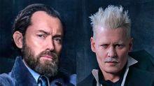 ¡Qué pena! Jude Law revela que Dumbledore no comparte escenas con Grindelwald en Animales Fantásticos 2
