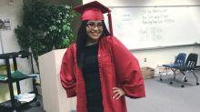 Adolescente con cáncer terminal tiene ceremonia de graduación temprana: 'Me hace sentir importante'