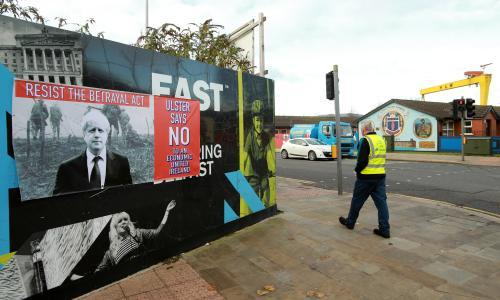 View from Belfast: republicans cheering on Tories, loyalists for Corbyn – what's going on?