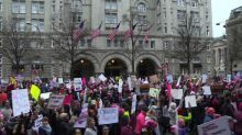 Over two million people flood US cities for women's marches