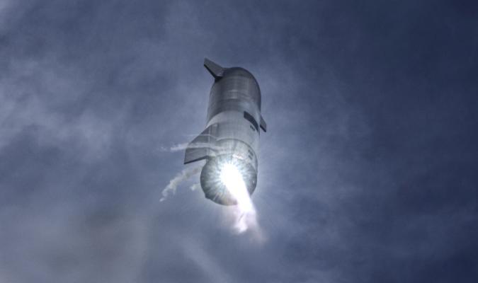 Starship SN10 High-Altitude Flight Test