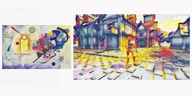 Google Stadia can use AI to change a game's art in real-time