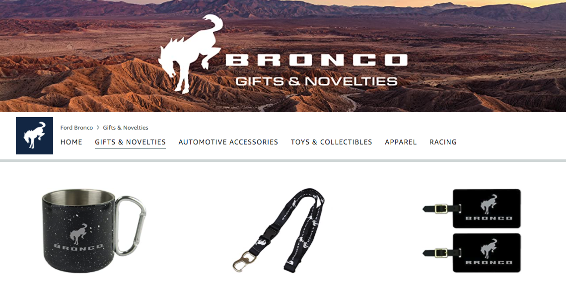 Where to Buy Ford Bronco Merchandise before New SUV Comes Out