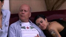 Bruce Willis Surprises Rumer During 'DWTS' Rehearsal