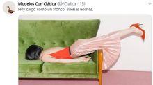 La cuenta de Twitter que triunfa burlándose de las posturas surrealistas de las modelos