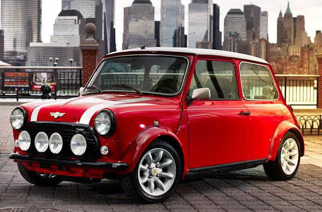 Mini created an electric version of one of its classics
