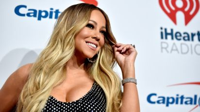 Mariah Carey Stuns in Curve-Hugging Number at iHeartRadio Music Festival