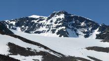 De como la cima más alta de Suecia perdió su categoría este verano