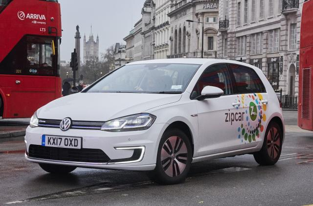 Zipcar rolls out the UK's biggest zero-emission car-share fleet